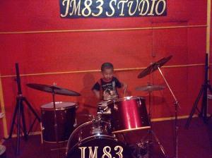 Violino Ridho Putra Kembali Latihan Drum, Vokal di JM 83 STUDIO (12)