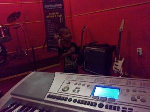 Violino Ridho Putra Kembali Latihan Drum, Vokal di JM 83 STUDIO (5)