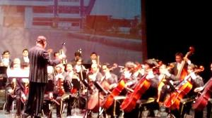 Konser Perdana Orkestra Simfoni ISI Padangpanjang 070214, Gedung Pertunjukan Hoeridjah Adam2