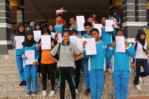 Tim Pasus dan Capaska Kuansing dari SMAN 2 Teluk Kuantan SMAN 1 Sentajo Raya3