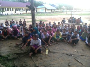 "Proses Tari ""Cahaya Ilahi"" Tari Masal Pembukaan MTQ ke 13 Kabupaten Kuantan Singingi  5"