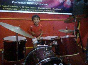 Violino Ridho Putra kembali berlatih Drum Set di JM 83 STUDIO (8)