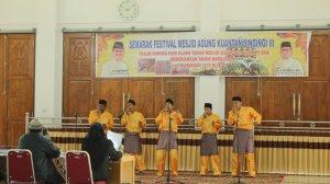 SMAN 1 Sentajo Raya Juara 1 Nasyid Festival Masjid Agung 2014 Kab.Kuantan Singingi3