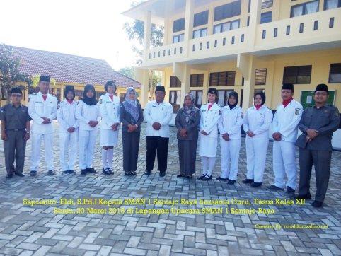 Pasukan Pengibar Bendera SMAN 1 Sentajo Raya kab. Kuantan Singingi - Riau (FILEminimizer)