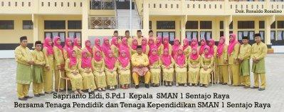 Pendidik dan Tenaga Kependidikan SMAN 1 Sentajo Raya kab. Kuantan Singingi - Riau ok (2) ok