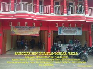 Proses Latihan Sanggar Seni Kuantan Mekar (SSKM)  di Kota Teluk Kuantan kab. Kuantan Singingi - Riau (1)
