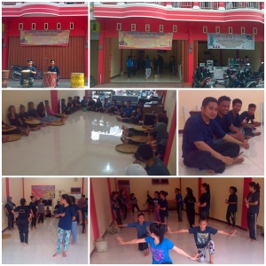 Proses Latihan Sanggar Seni Kuantan Mekar (SSKM)  di Kota Teluk Kuantan kab. Kuantan Singingi - Riau (3)