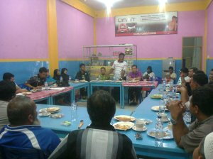 Rapat Persiapan Pelantikan Ikata Keluarga Tanah Datar IKTD kab. Kuantan Singingi (2)