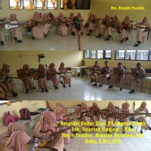 Ansanble Guitar Class X Smansa Sentra kab. Kuantan Singingi - Riau (1)