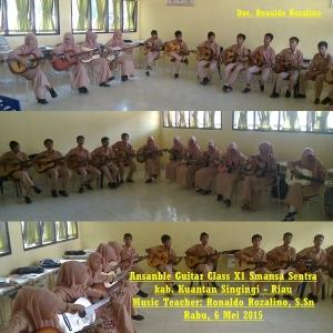 Ansanble Guitar Class X Smansa Sentra kab. Kuantan Singingi - Riau