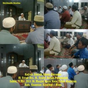 Kajian Ilmiah Islam Bersama Al Ustad Drs. H. Syafri Datuk Pamuncak